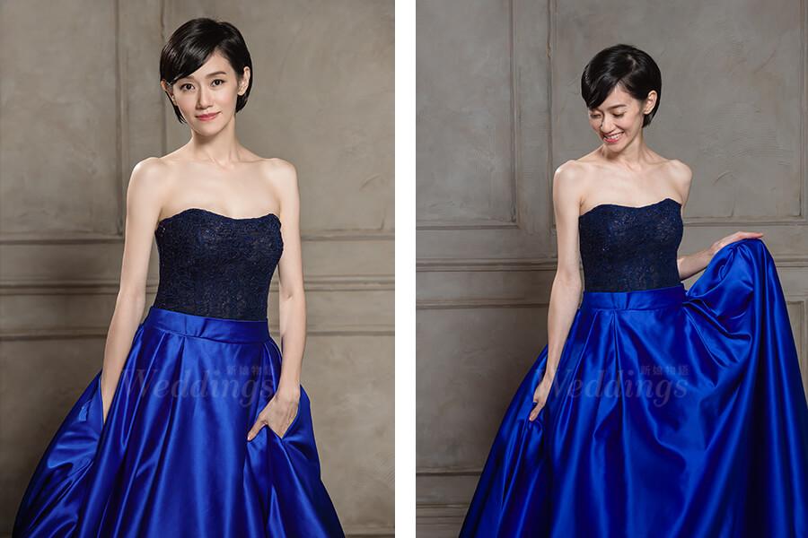 周幼婷,時裝禮服,新娘物語封面人物,明星專訪
