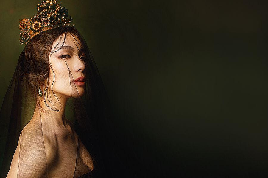 蔡淑臻──雙面皇后的婚禮綺想