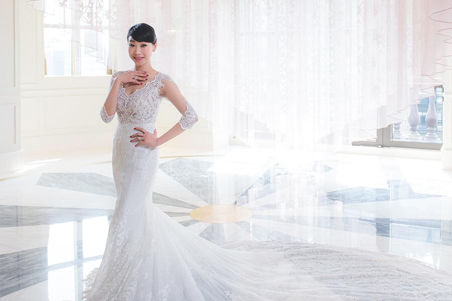 胡婷婷,文華東方,新娘物語,結婚,新娘