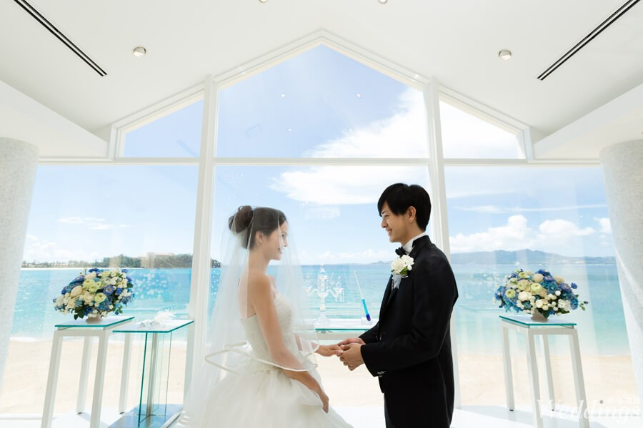 沖繩,海外婚禮,艾葵雅,教堂,華德培