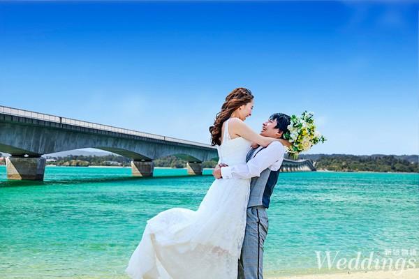 沖繩,海外婚禮,華德培