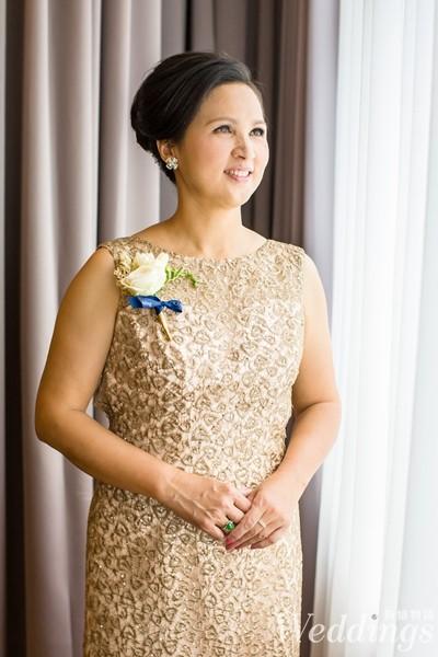 媽媽妝,媽媽裝,彩妝重點,結婚,婚禮