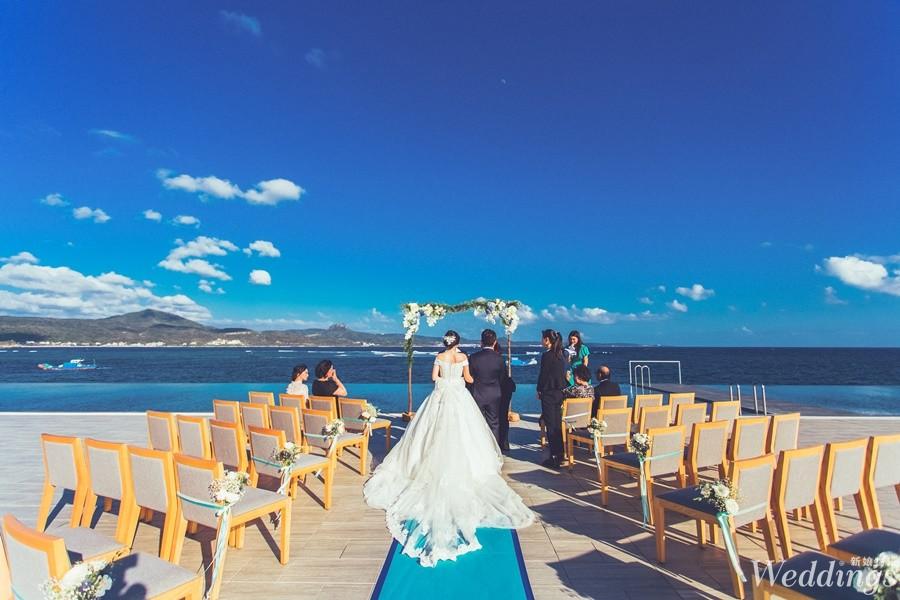婚宴試菜2018|永豐棧後壁湖畔|夢幻戶外婚禮,享受海景的西式婚宴!