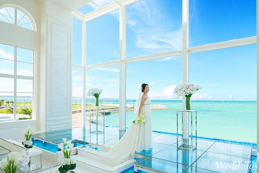 海外婚禮,沖繩,結婚,教堂,愛思禮