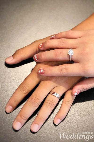 婚戒,對戒,戒指,法蝶,鑽戒,鑽石