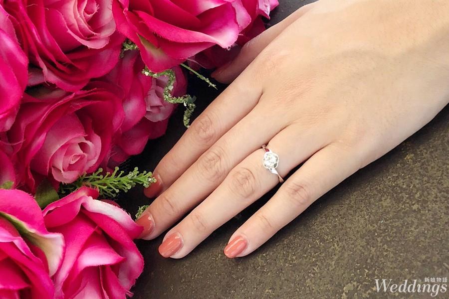 一克拉,婚戒,法蝶,鑽石,戒指,鑽戒