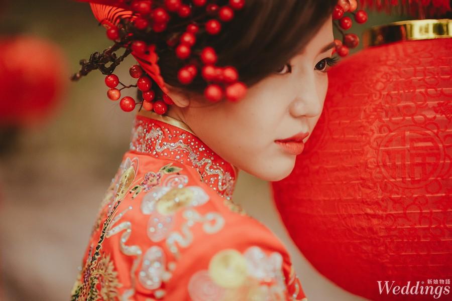 龍鳳褂,禮服,明星婚禮