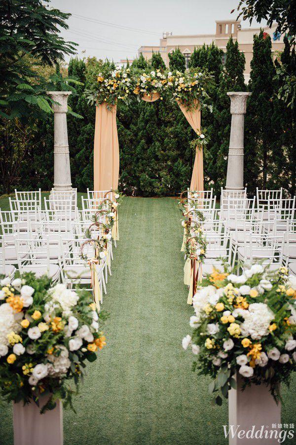 戶外婚禮,婚禮佈置,青青風車,羅絲蔓