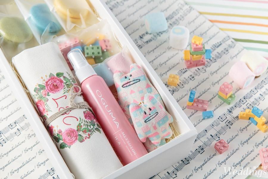 姊妹禮,oguma,水美媒,婚禮小物,保濕
