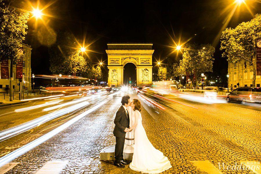 海外婚紗,蜜月旅行,環遊世界,金紗夢婚禮