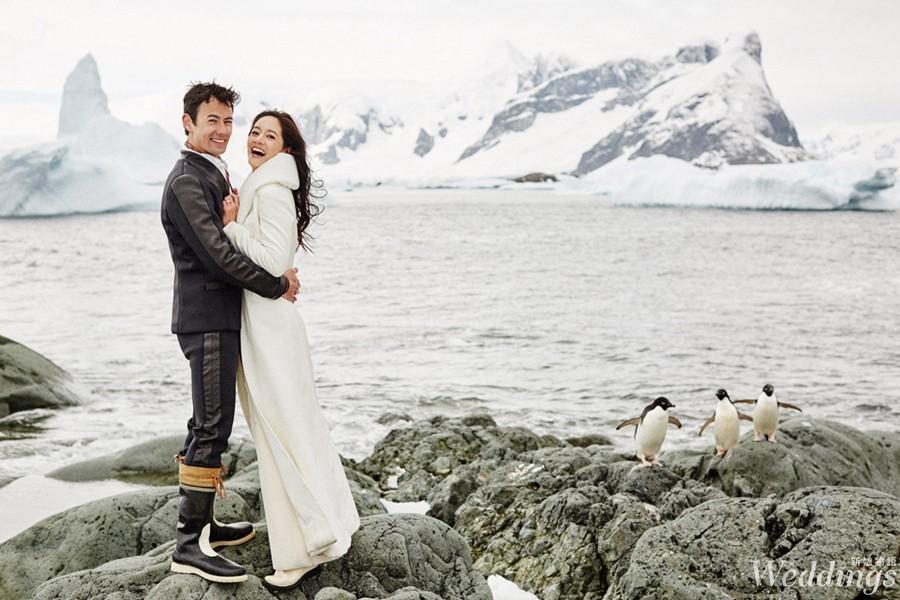 Janet,南極,結婚,海外婚禮,婚紗