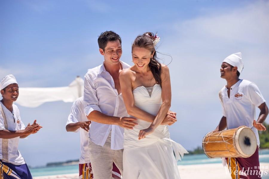 海外婚禮,馬爾地夫,瑞僖敦,渡假村,蜜月