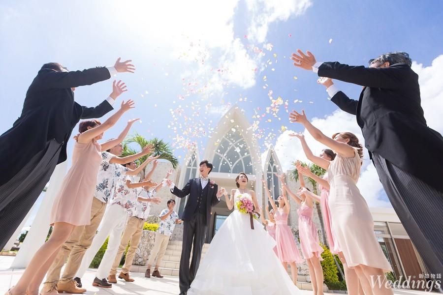 海外婚禮,沖繩,渡假婚禮,教堂,華德培