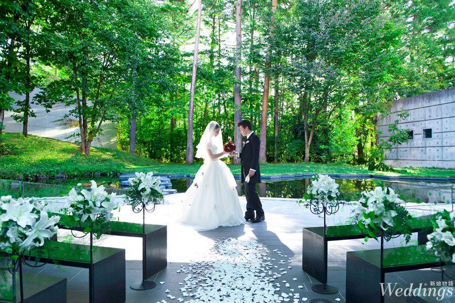 結婚,海外婚禮,日本星野,葉之教堂,湯桂禎