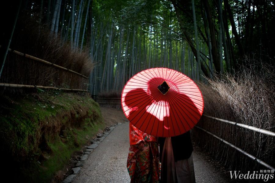 京都,日本,京都婚禮,和服,穿和服,婚紗,寶石教堂