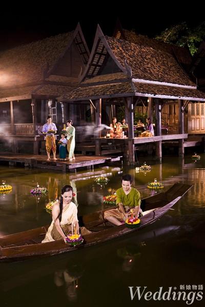 泰國,旅遊,蜜月,旅行,水燈節