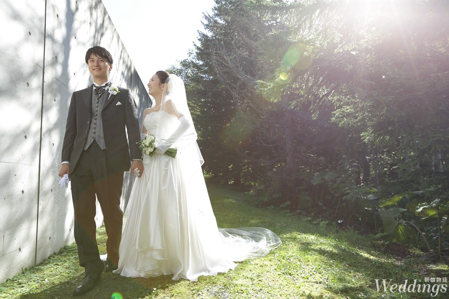 結婚,海外婚禮,日本星野,婚禮,湯桂禎,水之教堂,冰之教堂,北海道