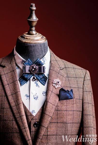 新郎,流行,西裝,配件,老爺紳士禮服