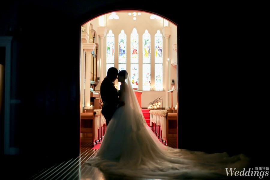 京都,海外婚禮,大阪,宝石教堂,結婚