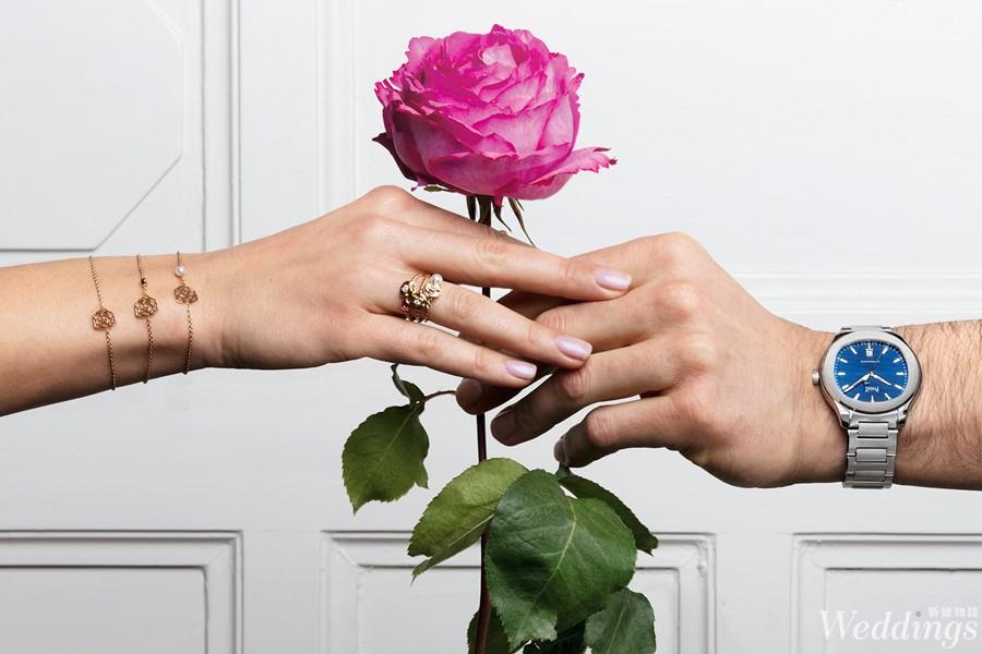 戒指,Piaget,伯爵,婚戒,鑽戒,鑽石