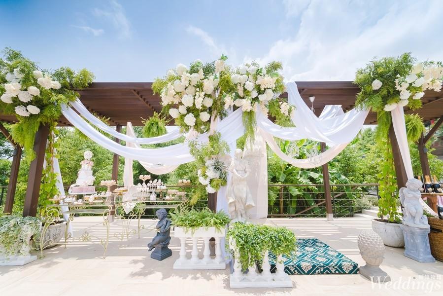 高雄圓山大飯店,湖畔莊園嘉年華,婚宴場地,戶外婚禮,西式婚禮,婚禮佈置