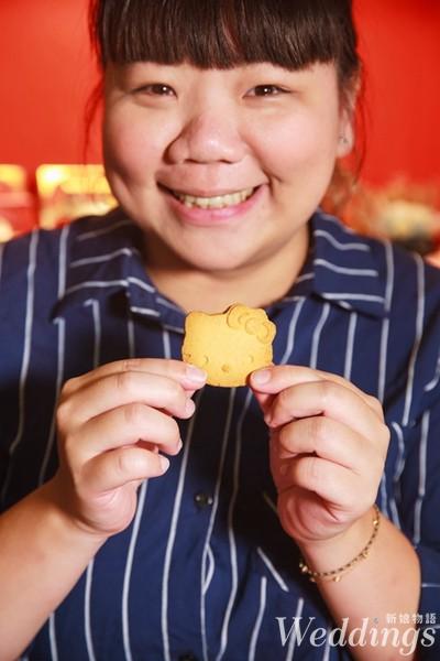 紅櫻花中式囍餅