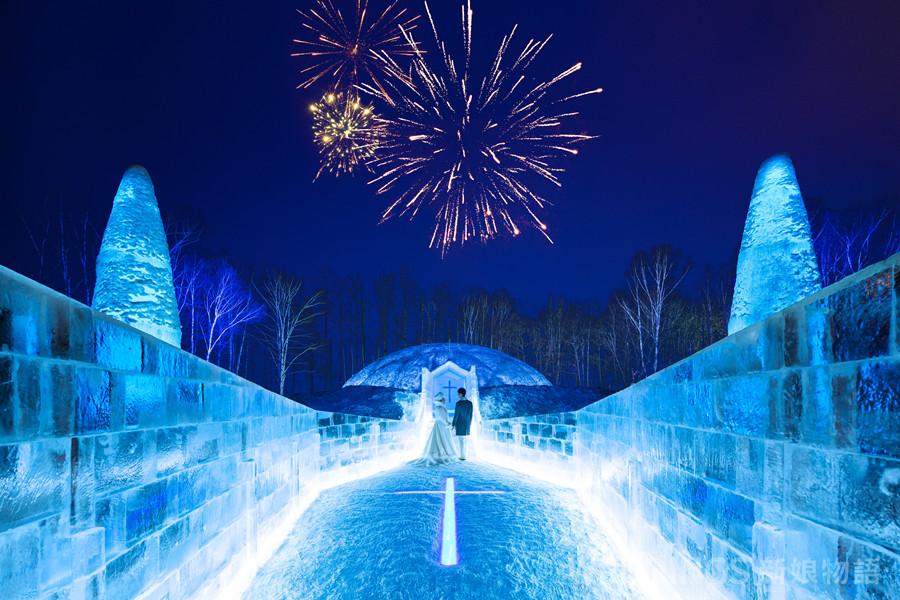 海外婚禮,北海道,日本星野,水之教堂,冰之教堂,北海道婚禮,湯桂禎