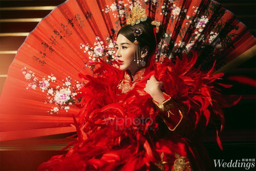中國風,中式婚紗,喜帖,喜餅,婚宴場地