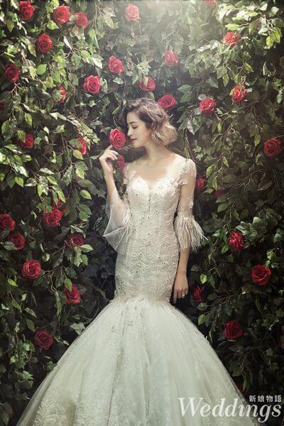 婚禮,婚紗,封面人物,莫允雯