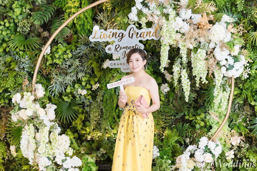 花意空間,婚禮佈置,婚宴,佈置,台北君悅飯店,Living Grand