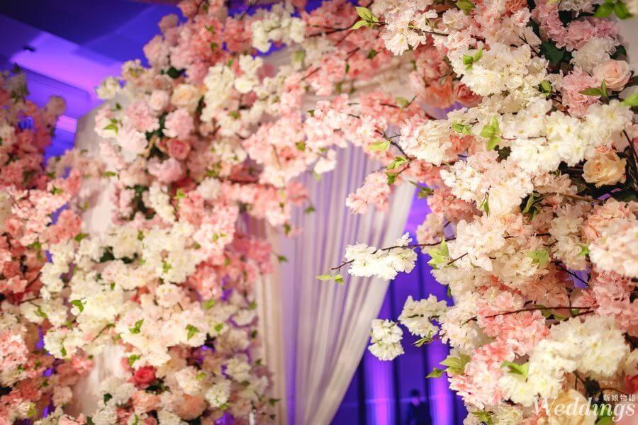 花意空間,婚禮佈置,婚宴,佈置,台北君悅飯店