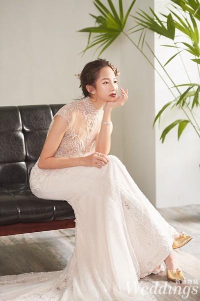 新娘物語,封面人物,簡嫚書,結婚,婚紗,禮服