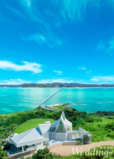 海外婚禮,沖繩,度假,結婚,教堂