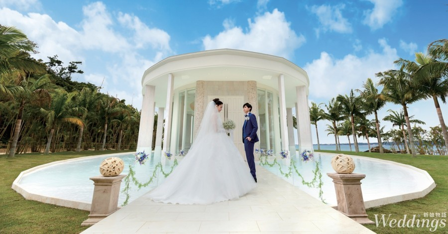 沖繩,海外婚禮,教堂,結婚,度假