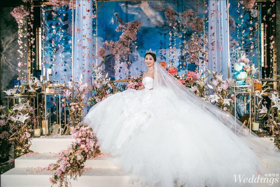 婚禮佈置,婚禮,花藝設計,巧偶