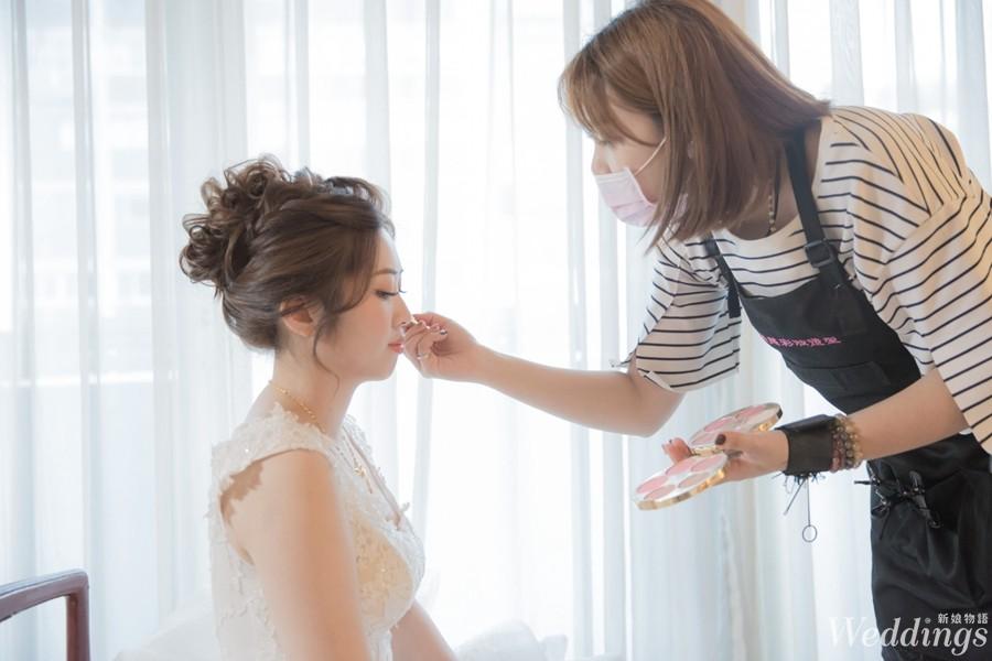 2019婚禮人,婚禮品牌推薦,貴婦慈彩妝造型團隊,新娘秘書