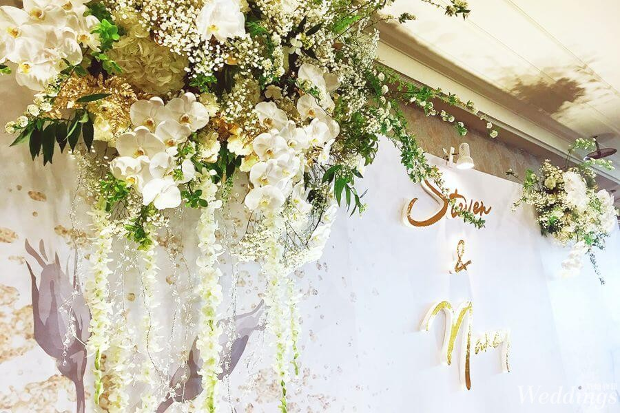 2019婚禮人,羅絲蔓花藝設計,婚禮佈置,優質婚禮品牌