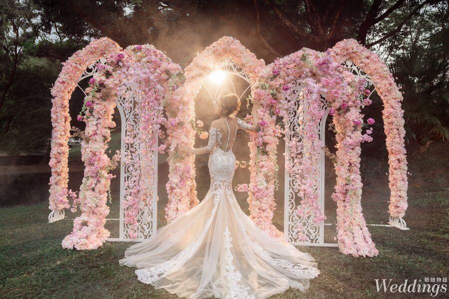 2019婚禮人,婚禮品牌推薦,婚禮佈置,品花灣