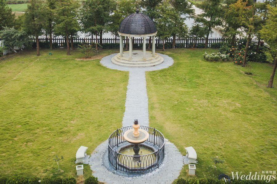 宜蘭婚宴場地|香格里拉冬山河渡假飯店|來場歐式花園戶外婚禮吧!宜蘭婚宴場地,婚禮場地,豪汀花園,戶外證婚,證婚亭,推薦