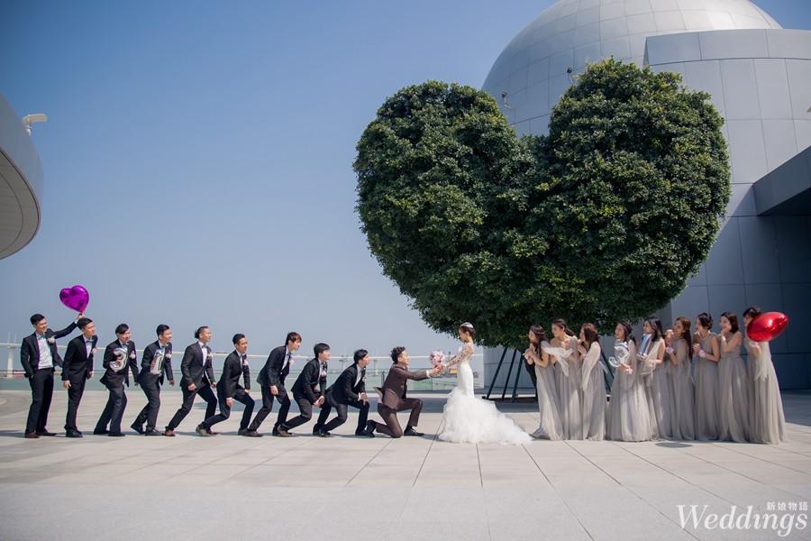 伴娘,伴郎,婚禮,婚宴,結婚闖關,條件,工作流程