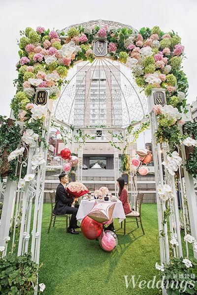 晶華酒店,證婚亭,情人節,台北婚宴,婚宴