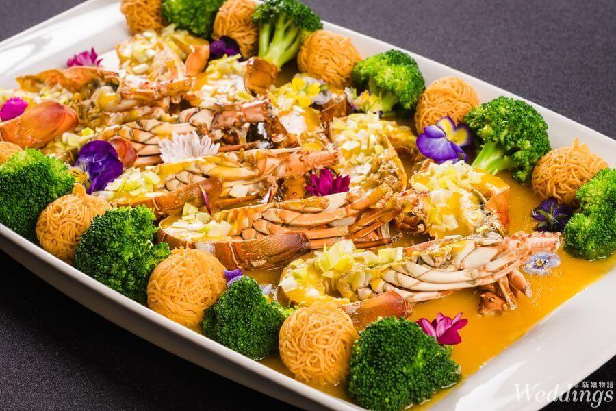 創新婚宴料理特輯|大直典華|夢幻廳房中的全新感官雙享!