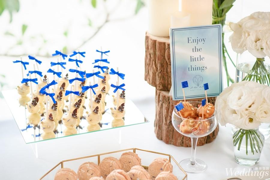 Le Bleu Ballon Pâtisserie,喜餅,喜餅試吃,手工喜餅,法式,甜點,藍氣球