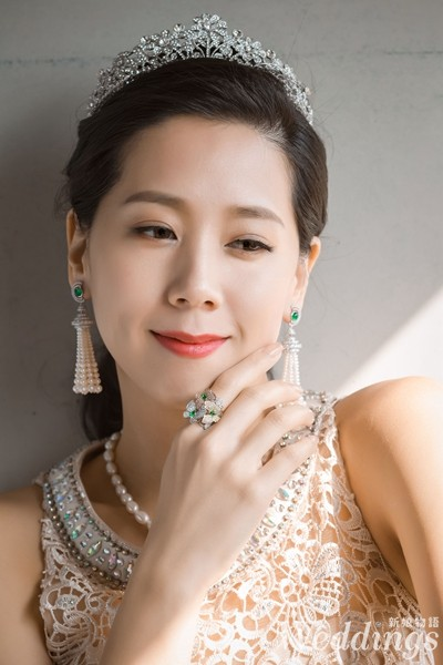 鑽石家,新娘,珠寶租借,文定,珍珠,翡翠,水晶