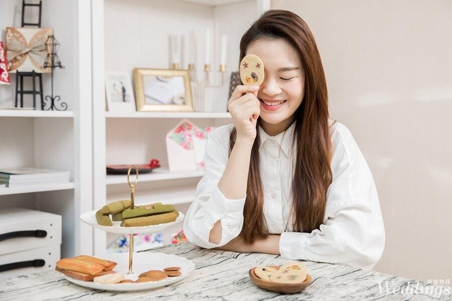 喜餅,喜餅試吃,婚禮主持人Vicky,山木島,手工喜餅