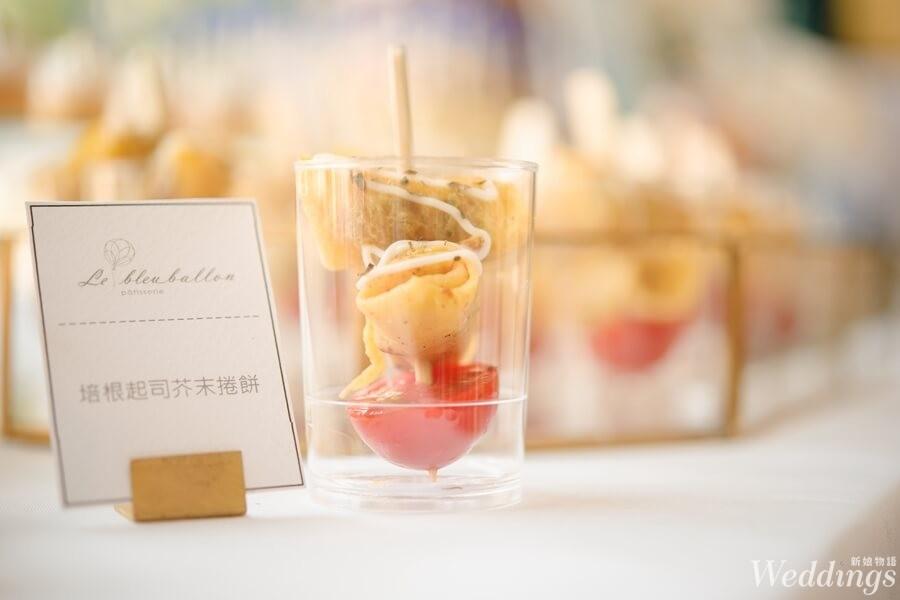 candybar,Le Bleu Ballon Pâtisserie,藍氣球,婚禮派對,法式甜點,風格,點心