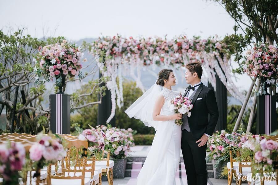 台北士林萬麗酒店,婚禮,婚禮體驗日,戶外婚禮,派對,美式證婚,美式風格,新人