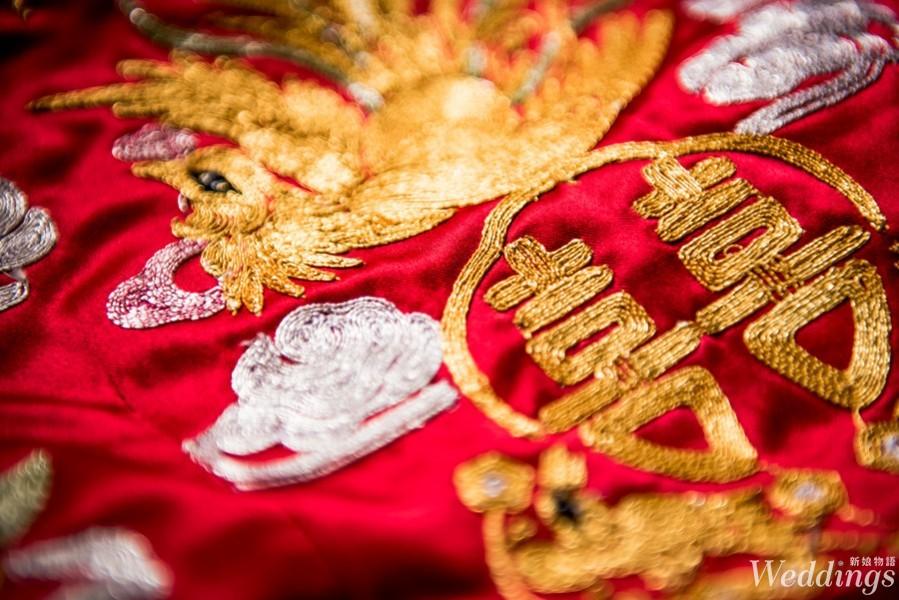 龍鳳褂,秀禾服,由來,新娘,文定,禮服出租,中式禮服,訂婚禮服