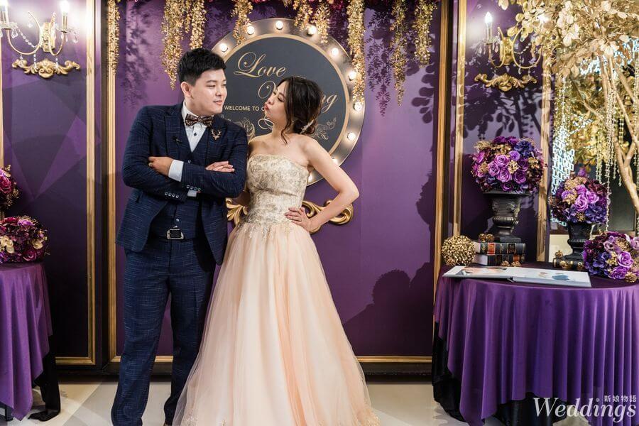 婚禮,婚宴,婚禮分享,寶麗金,小桌數婚宴,新人分享