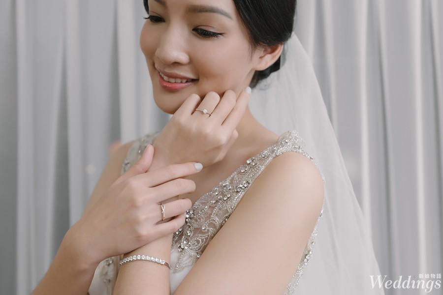 婚戒,穿搭,鑽石,法蝶珠寶,戒指,鑽戒